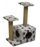 Когтеточка дом для кошки Пушок Дуплет
