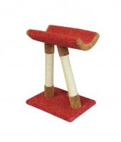 Пушок Когтеточка для кошки Косая ножка