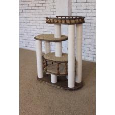 Комплекс «Деруша» (коричневое дерево + бежевый ковролин)