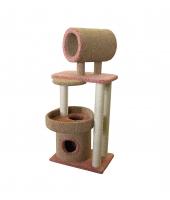 Пушок Комплекс для кошки Округлый с трубой