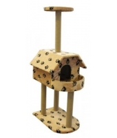 Когтеточка домик для кошки Пушок Балкон