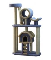 Пушок Большой комплекс для кошки с лестницей