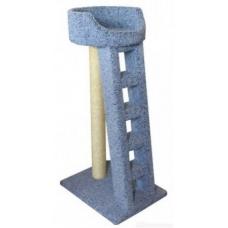 Когтеточка для кошки Лежанка с лестницей