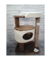 Когтеточка домик для кошки Зоополюс арт-301