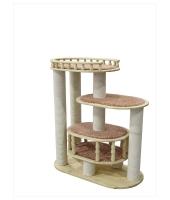 Пушок деревянный комплекс для кошки Деруша