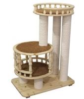 Пушок деревянный комплекс для кошки Гугуша